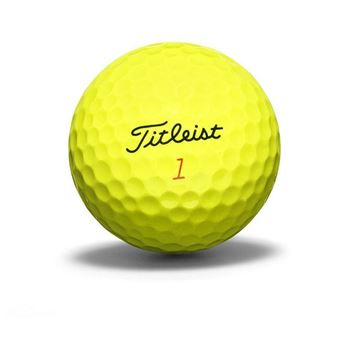 Titleist DT TruSoft Yellow Dozen Pack Golf Balls