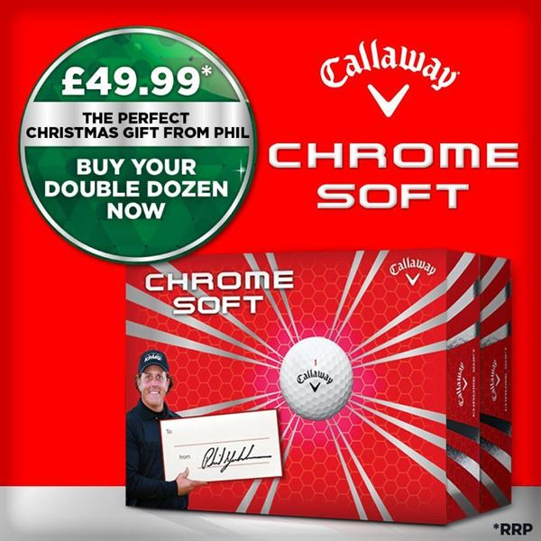 Callaway Chrome Soft Two Dozen Pack