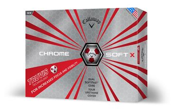 Calllaway Chrome Soft X Truvis Dozen Pack 2018