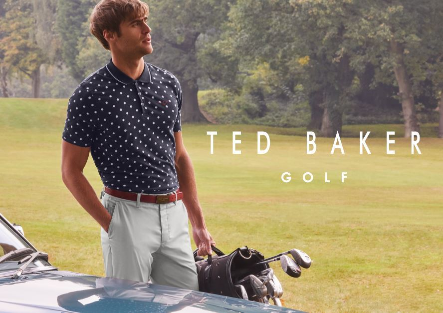 Ted Baker – Brand New to Silvermere Golf Store (Shop In-Store)