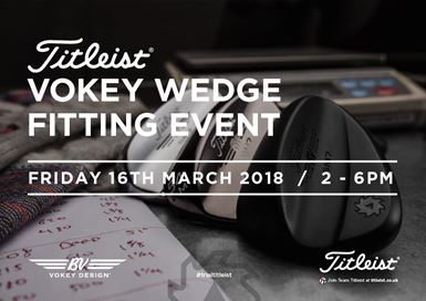 Titleist Vokey Wedge Fitting Event at Silvermere