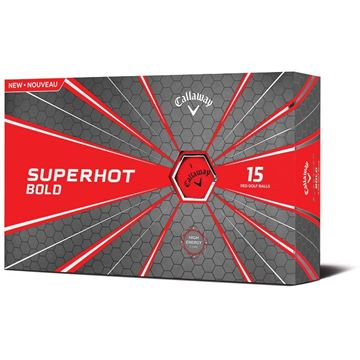 Callaway Superhot Bold Red Golf Balls