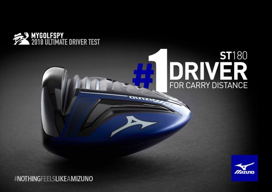 Mizuno ST180 Driver Ranked #1 for Carry Distance