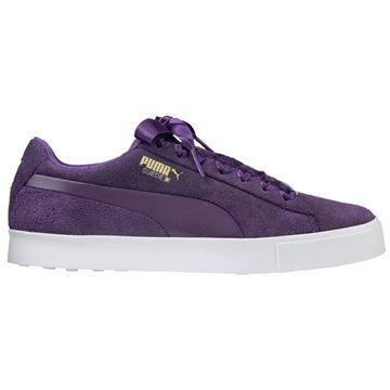 Ladies Suede G Golf Shoes - 191206 03, Ladies Golf Shoes