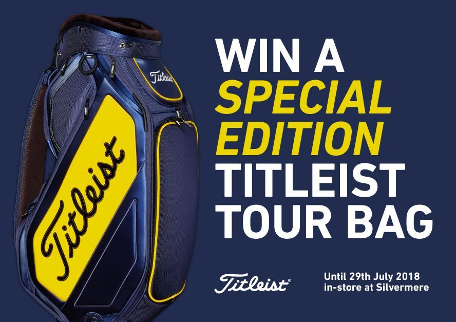 WIN a Special Edition Titleist Tour Bag