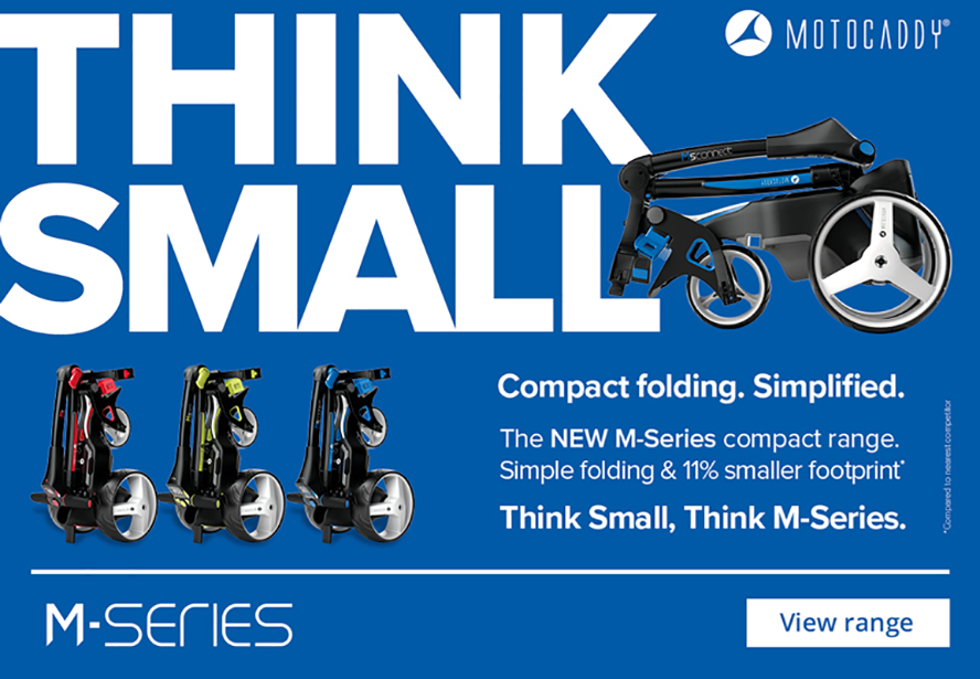 NEW Motocaddy M-Series Trolleys