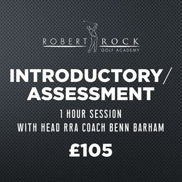 Robert Rock Academy Introductory/Assessment 1 Hour Session, Golf Lessons Silvermere Golf Course, Surrey