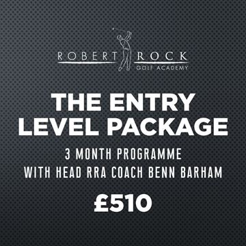 Robert Rock Academy The Entry Level Package (3 Month Programme), Golf Lessons Silvermere Golf Course, Surrey