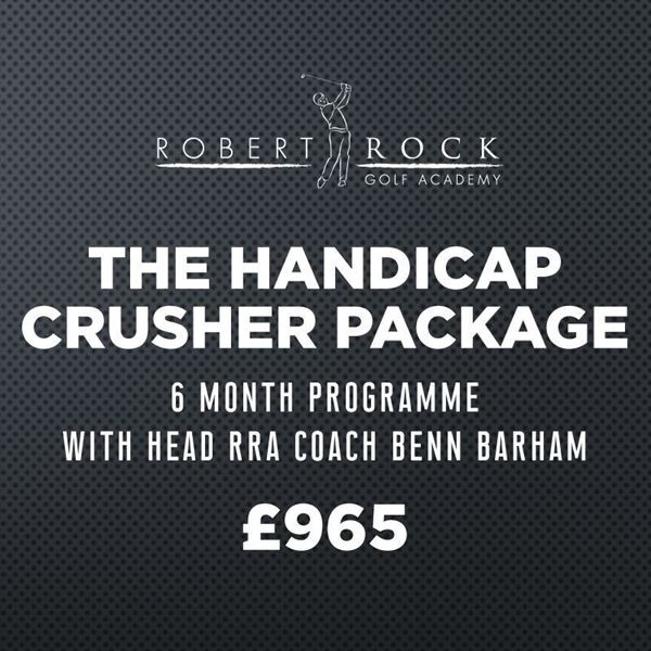 Robert Rock Academy The Handicap Crusher Package (6 Month Programme), Robert Rock Academy The Entry Level Package (3 Month Programme), Golf Lessons Silvermere Golf Course, Surrey