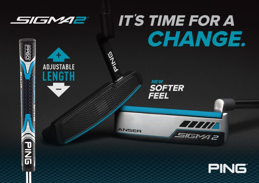 Technically sound putting with the new PING Sigma 2
