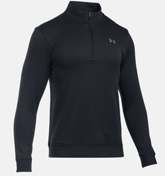 Under Armour Sweater Fleece Black, golf clothing mens, black friday
