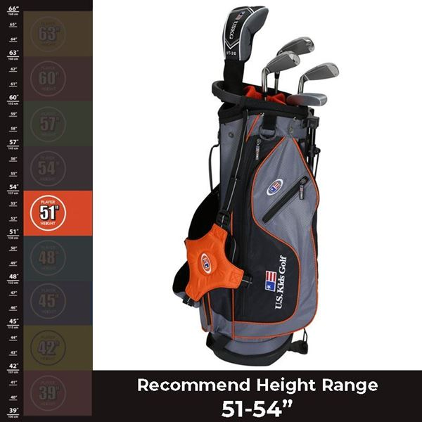 "US KIDS 51"" Ultralight - Package Set, junior golf clubs"