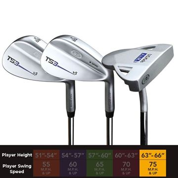 "US Kids Tour Series 63"" , Golf Clubs Juniors"