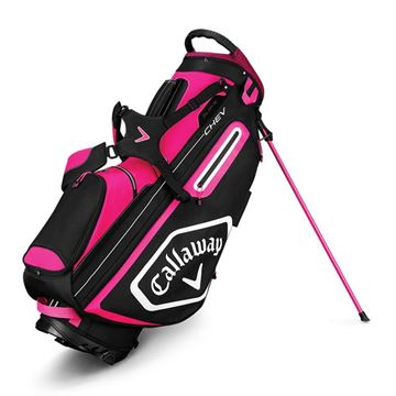 Callaway Chev Stand Bag - PNK/WHT/BLK GOLF STAND BAG