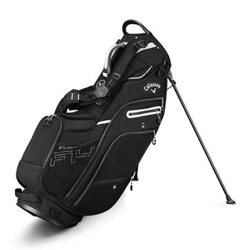 FUSION 14 STAND BAG - BLACK GOLF STAND BAG