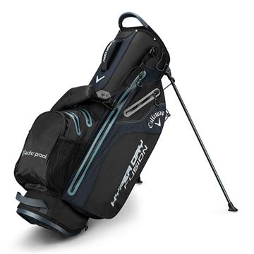 CALLAWAY HYPERDRY FUSION STAND BAG BLK/TIT/SILV GOLF STAND BAG