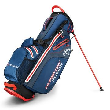 CALLAWAY HYPERDRY FUSION STAND BAG NVY/TIT/ORA GOLF STAND BAG