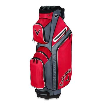 Callaway X Series Cart Bag - RED/TIT/WHT GOLF CART BAG