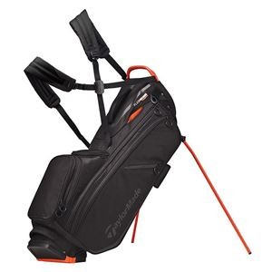 Taylormade FlexTech Crossover Stand Bag - BK/OR GOLF STAND BAG
