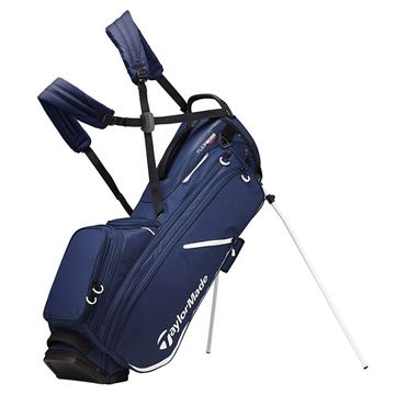 Taylormade FlexTech Crossover Stand Bag - NVY/WHT GOLF STAND BAG