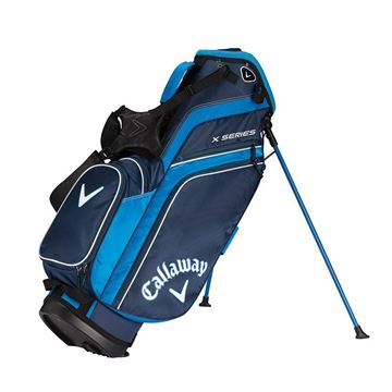 Callaway X Series Stand Bag - NVY/ROY/WHT GOLF STAND BAG