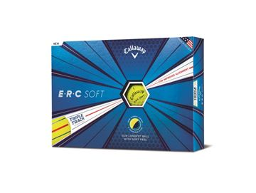 Picture of Callaway ERC Soft 12 Golf Balls 2019 Yellow