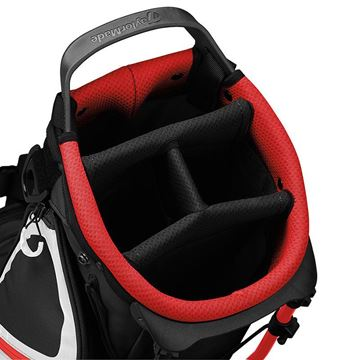 Taylormade FlexTech Lite Stand Bag - BLK/BLD GOLF STAND BAG