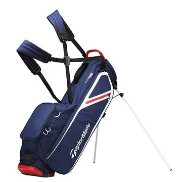 Taylormade FlexTech Lite Stand Bag - NVY/WHT/RED GOLF STAND BAG