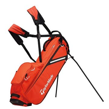 Taylormade FlexTech Lite Stand Bag - ORANGE GOLF STAND BAG