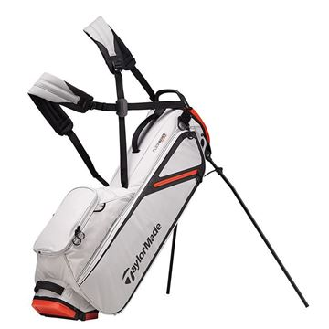 Taylormade FlexTech Lite Stand Bag - SIL/ORA GOLF STAND BAG