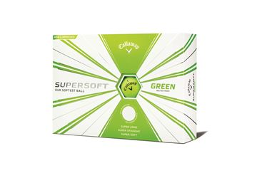 Picture of Callaway Supersoft 12 Golf Balls  Matte  Green 2019