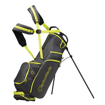 Taylormade LiteTech 3.0 Stand Bag - GREY/LIME GOLF STAND BAG