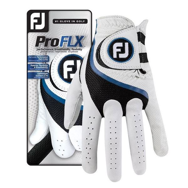FootJoy Pro Flx White Glove For the Right Handed Golfer, golf glove mens