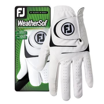 FootJoy WeatherSof Glove White For the Right Handed Golfer