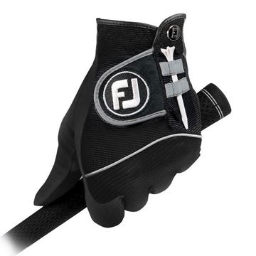 FootJoy Ladies RainGrip Black Gloves For the Right Handed Golfer