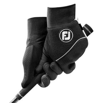 FootJoy Ladies Wintersof Black Pair of Gloves For the Right Handed Golfer