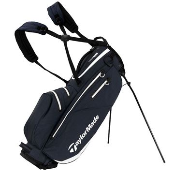 Taylormade FlexTech Waterproof Stand Bag - Grey/White, GOLF BAGS