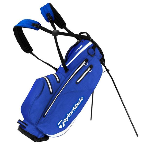 Taylormade FlexTech Waterproof Stand Bag - Royal/White, golf bags