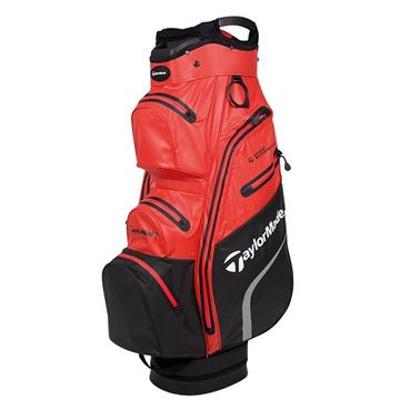 Taylormade Deluxe Waterproof Cart Bag - Orange, GOLF BAGS