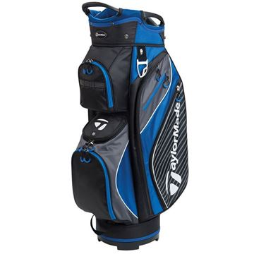 Taylormade Pro Cart 6.0 Golf Bag - Black/Charcoal/Blue, golf bags