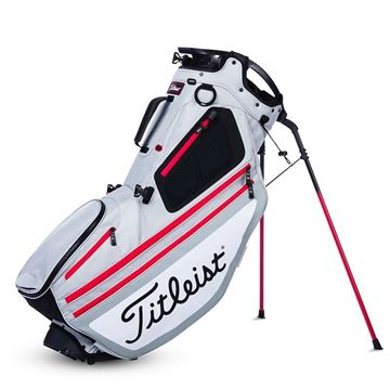 Titleist Hybrid 14 Golf Carry Bag - Silver/White, golf bags