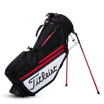 Titleist Hybrid 5 Golf Carry Bags - Black/White, golf bags