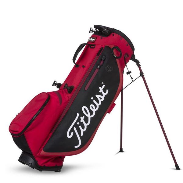 Titleist Players 4 Plus Carry Bag - Red/Black, golf bags