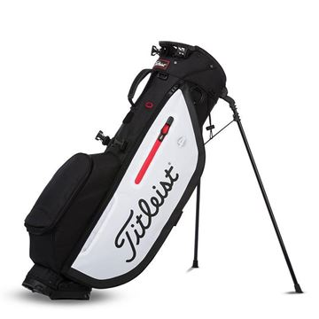 Titleist Player 4 Carry Bag - Black/White, golf bags