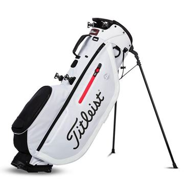 Titleist Player 4 Carry Bag - White/Black, golf bags