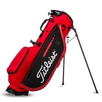 Titleist Player 4 Carry Bag - Red/Black, golf bags