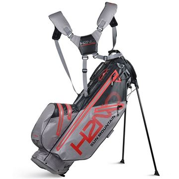 Sun Mountain H2NO Lite Stand Bag - Black/Grey, golf bags