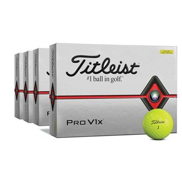 Titleist Pro V1X Yellow 4 FOR 3 Ball Offer - Personalised