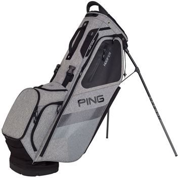Ping Hoofer Stand Bag - Heather/Black, GOLF BAGS
