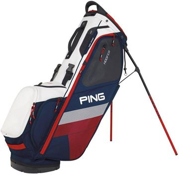 Ping Hoofer Stand Bag - Navy/White, golf bags